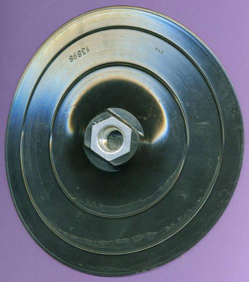 125mm Stützteller M14 für Bremsscheiben Winkelschleifer Bohren Adapter Schleif